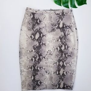 THE LIMITED High Waisted Bodycon Pencil Skirt